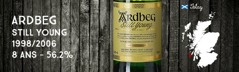 Ardbeg Still Young 1998/2006 – 8yo – 56,2 % – OB