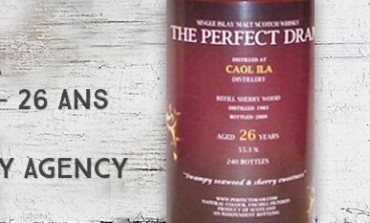 Caol Ila 1983/2009 - 26yo - 55,3 % - The Whisky Agency The Perfect Dram