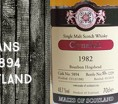 Clynelish 1982/2010 - 27yo - 48,7 % - Cask 5894 - Malts of Scotland