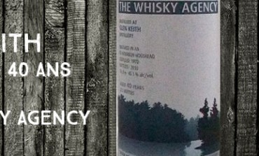 Glen Keith 1970/2010 - 40yo - 45,1 % - The Whisky Agency Landscapes