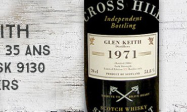 Glen Keith 1971/2006 - 35yo - 51,8 % - Cask 8130 - Jack Wiebers The Cross Hill