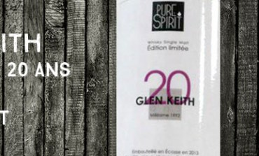 Glen Keith 1992/2013 - 20yo - 51,8 % - Pure Spirit