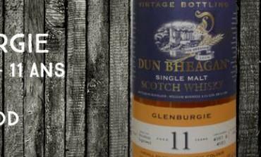 Glenburgie 1998/2010 – 11yo – 43% - Cask4980+4983 – Ian MacLeod Dun Bheagan