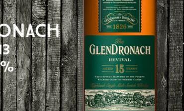 Glendronach Revival – 15yo - 46% - OB - 2013