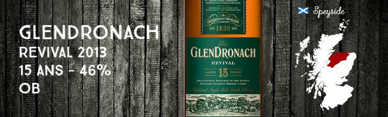 Glendronach Revival – 15yo – 46% – OB – 2013