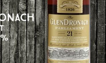 Glendronach Parliament - 21yo - 48% - OB - 2012