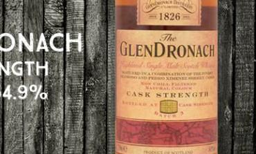 Glendronach - Cask Strength - batch 3 - 54,9% - OB