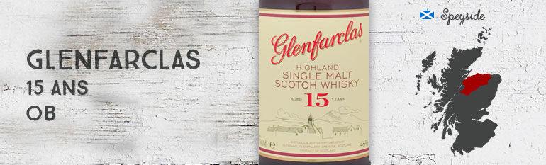 Glenfarclas – 15yo – 46% – OB