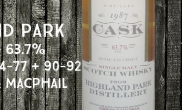 Highland Park 1987/1997 - 9yo - 63,7% - cask15474-1547715490-15492 – Gordon&MacPhail