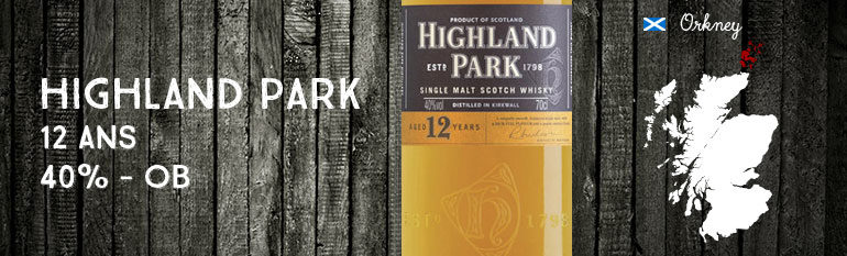 Highland Park 12yo – 40% – OB