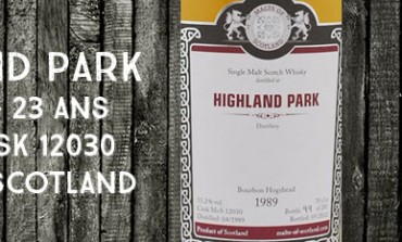 Highland Park - 1989/2012 -  53,2 % - Cask 12030 - Malts of Scotland