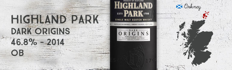 Highland Park – Dark Origins – 46,8% – OB – 2014
