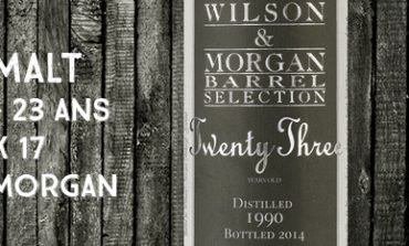 House Malt 1990/2014 - 23yo - 48 % - Wilson & Morgan
