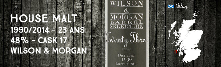 House Malt 1990/2014 – 23yo – 48 % – Wilson & Morgan