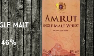 Amrut Indian Single Malt Whisky – Batch 38 - 46 %