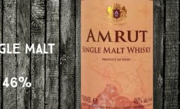 Amrut Indian Single Malt Whisky – Batch 38 - 46 %