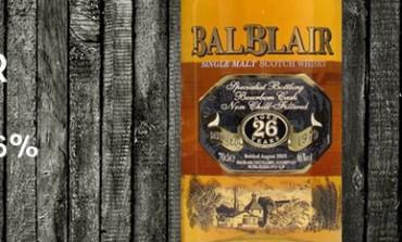 Balblair 1979/2005 – 26yo – 46%- OB