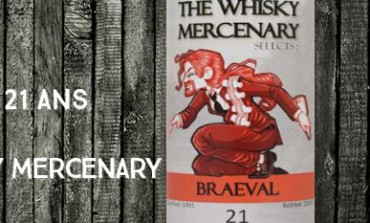 Braeval - 1991/2013 - 21yo - 47,7% - The Whisky Mercenary