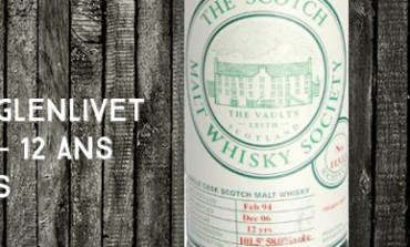 "Braeval Braes of Glenlivet 1994/2006 - 12yo - 58 % - Scotch Malt Whisky Society -  Cask 113.13 ""Mature Spice"""