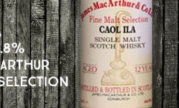 Caol Ila - 12yo - 64,8 % - James MacArthur Fine Malt Selection