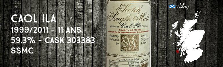 Caol Ila 1999/2011 – 11yo – 59,3% – Cask303383 – ScotchSingleMaltCircle