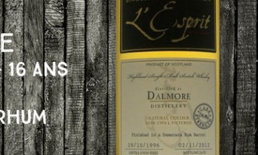 Dalmore 1996/2012 - 16yo - 54,4% - Cask9092/58 - Whisky&Rhum l'Esprit