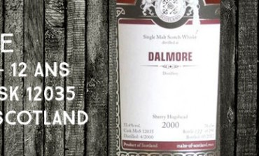 Dalmore - 2000/2012 - 12yo - 53,4% - Cask 12035 - Malts of Scotland