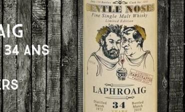 Laphroaig 1975/2010 – 34yo - 40,6 % - Cask1035 – Jack Wiebers World Whisky GentleNoses