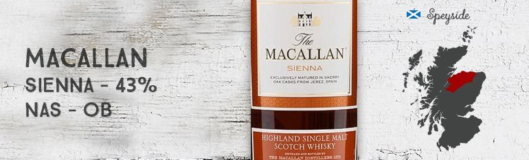 The Macallan Sienna – 43 % – OB