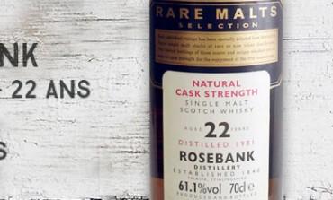 Rosebank - 1981/2004 - 22yo - 61,1% - OB Rare malts