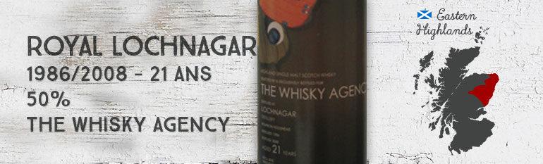 Royal Lochnagar 1986/2008 – 21yo – 50% – The Whisky Agency Butterflies