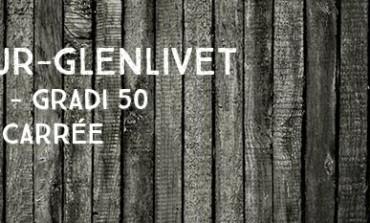 Aberlour-Glenlivet over 8 years old - Gradi 50 – 75cl – bouteille carrée – bouchon court – début des 1970's - OB