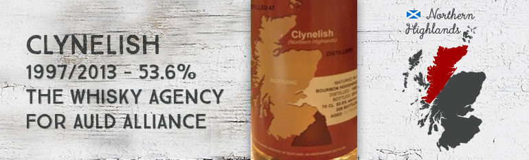 Clynelish 1997/2013 – 15yo – 53,6 % – The Whisky Agency for Auld Alliance