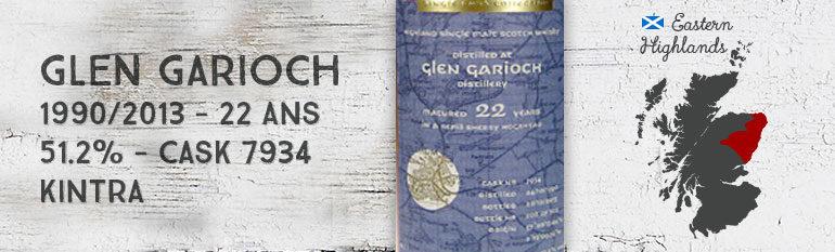 Glen Garioch 1990/2013 – 22yo – 51,2 % – Cask 7934 – Kintra