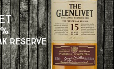 Glenlivet 15yo - French Oak reserve - 40 % - OB