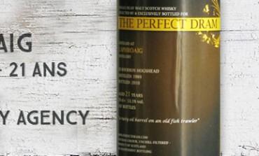 Laphroaig 1989/2010 - 21yo - 53,1% - The Whisky Agency The Perfect Dram