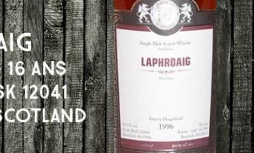 Laphroaig 1996/2012 - 16yo - 56,1% - cask12041 - MaltsofScotland