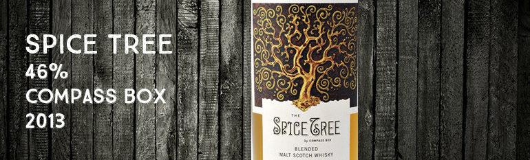 Spice Tree – 46% – Compass Box – 2013