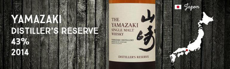 Yamazaki Distiller's Reserve – 43 % – OB – 2014