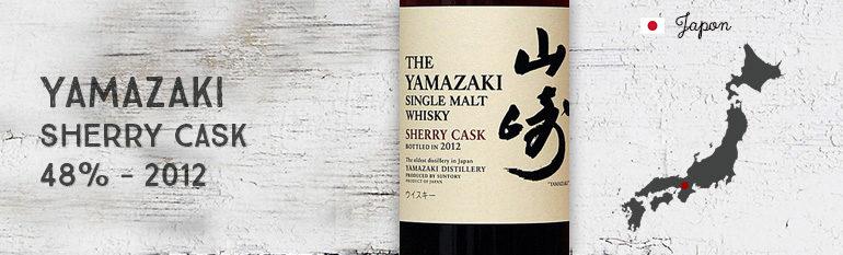 Yamazaki Sherry Cask – 48 % – OB – 2012