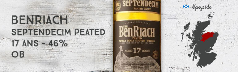 Benriach Septendecim Peated – 17yo – 46 % – OB