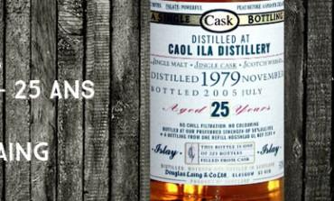 Caol Ila 1979/2005 25yo – 50 % - Cask 2001 - Douglas Laing Old Malt Cask