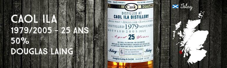 Caol Ila 1979/2005 25yo – 50 % – Cask 2001 – Douglas Laing Old Malt Cask