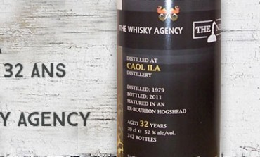 Caol Ila 1979/2011 – 32yo – 52 % - The Whisky Agency with The Nectar