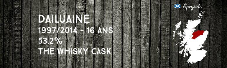 Dailuaine – 1997/2014 – 16yo – 53,2% – The Whisky Cask