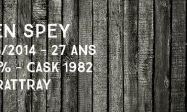 Glen Spey 1986/2014 - 27yo -  52,5 % - Cask1982 - Dewar Rattray