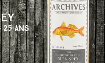 Glen Spey - 1988/2014 - 25yo - 47,3 % - Cask 356079 - Archives Fishes of Samoa