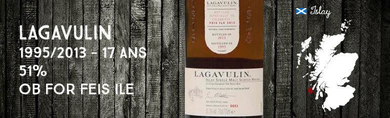 Lagavulin Feis Ile 1995/2013 – 17yo – 51 % – OB