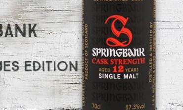 Springbank 12yo Cask Strength Blues edition - 57,3 % - OB