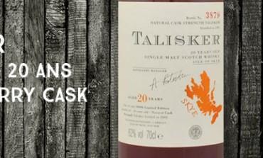Talisker - 1981/2002 - 20yo - 62% - OB Sherry Cask